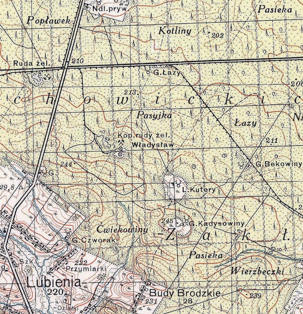 1937-1938-mapa-przedwojenna-historyczna-swietokrzyskie-brody-starachowice-wierzbnik-swietokrzyskie-lubienia-kopalnie-b.JPG