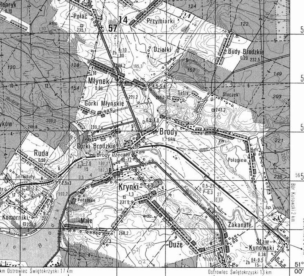 1987-stara-mapa-sztabowa-brody-starachowice-swietokrzyskie-krynki-d.JPG